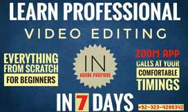 Learn Professional Video Editing