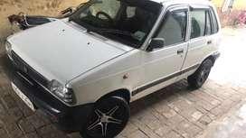 Maruti 800 ac koka peace giant look new tyres with alloy