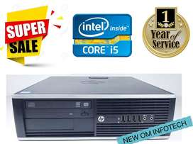 HP i5/GRAPHICS CARD FREE/1 YEAR WARRANTY/DELIVERY FREE IN LUDHIANA