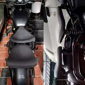 For classic 350 and std 350 enfield seat