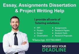 Assignment,Thesis,Dissertation,Coursework Writer, Proposal Writing