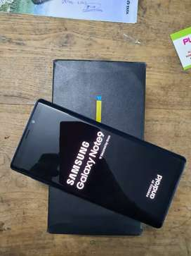 Samsung Note 9 full pack waranty remain