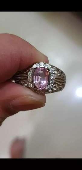 Pink Sapphire 1,8crt cling bersih