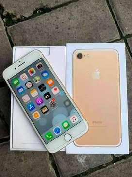 Iphone 7 128GB Gold Normal Lengkap