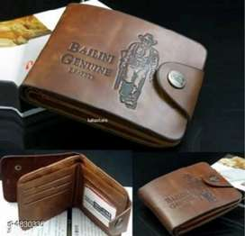 Men leather wallet available// cash on delivery