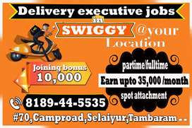 Delivery executive jobs