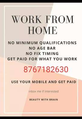 Money in online business and part time work