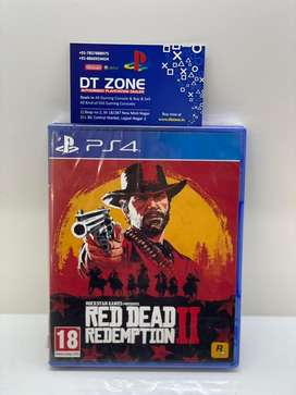 Red dead redemption 2 for PS4 and PS5 new sealed pack game disc