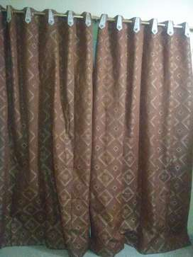 7 pieces curtains .With large size .8ft×5.5ft
