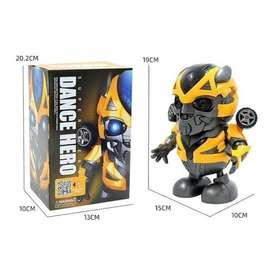 Dancing Robot BumbleBee Transformer Mainan Edukasi Anak Laki laki