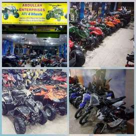 2-stroke-4 stroke SCOOTY  atv quad bike for sell