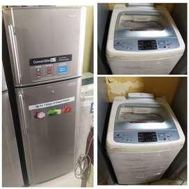&@ Double door fridge available good condition