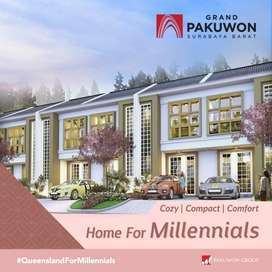 Rumah Baru Grand Pakuwon Cluster Queensland Surabaya Barat