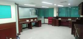 Central ac fully furnished office at kaloor with 24- 50 work station