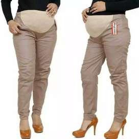 Celana kerja hamil -  Cream