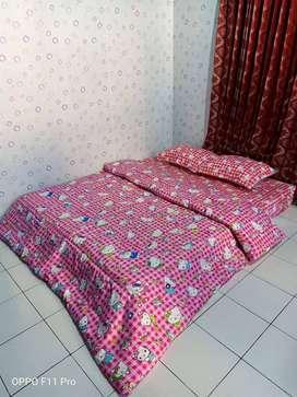 Tersedia Bed Cover Tebal Halus Siap Kirim Kirim Malinau