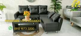 Sofa minimalis slonjor black osc