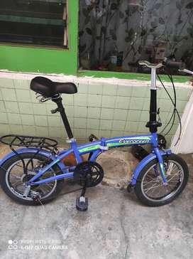 Sepeda lipat anak 16 inc