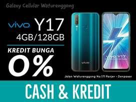 Vivo Y17 4/128 Blue Triple Camera Garansi Resmi Bisa Kredit