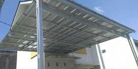 Canopy baja ringan, kanopi Murah, Atap rumah metal pasir