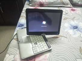 Fujitsu laptop, touch screen, rotate able