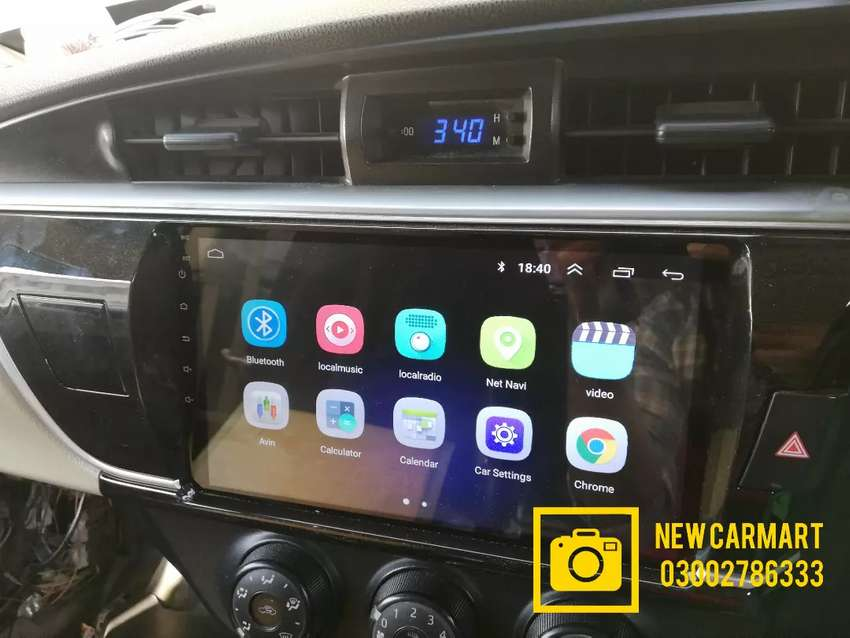 Genuine Fitting Android player for Toyota 0