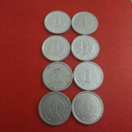 Koin 1 yen Jepang