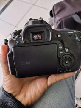 Canon  60D BO, lengkap box