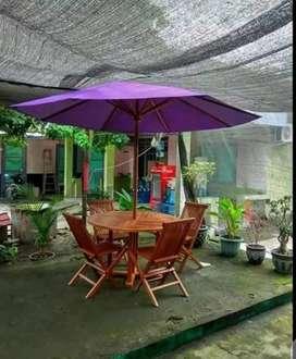 Meja payung,meja parasol,meja outdoor,meja taman,kursi taman