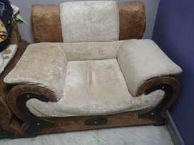 Large sofa & table set