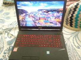 Msi laptop i7 8 th generation for sale