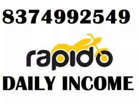 JOIN TODAY IN RAPIDO BIKE/FREE ATTACHMENT/EARN DAILY INCOME
