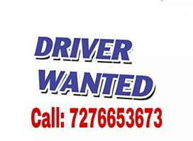 Driver Wanted For Uber/ Ola