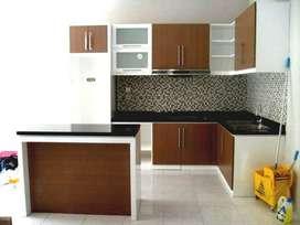 Backdrop almari lemari minibar rak bifet kitchen set furniture RAA