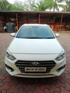 Hyundai Verna Fluidic 1.6 CRDi SX Opt AT, 2017, Diesel