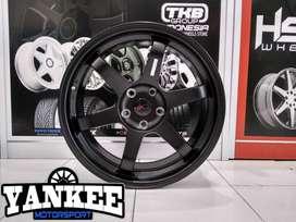 Velg TOKYO HSR Ring 18 Untuk Mobil Xpander, Innova Silvia, Civic New.