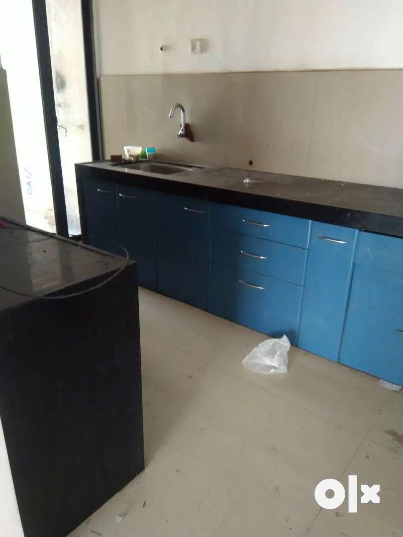 3 BHK with moduler kitchen 0