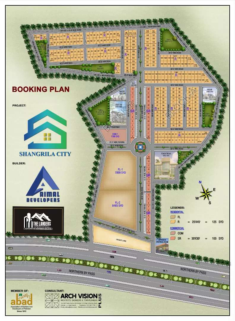 Great opportunity 125 SY Res plots at shangrila city northern bypass 0