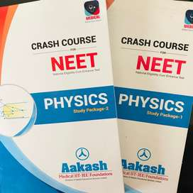 NEET Crash Course PHYSICS Study Package