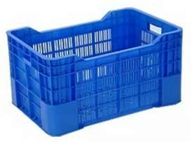 Plastic Vegetable and Fruit Basket and Crates