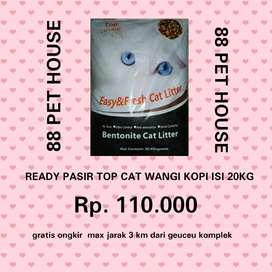 Pasir pup kucing 15.000/2kg