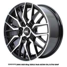 Velg Racing New SIADONG 2084 HSR R15X65 H8X100-114,3 ET40 BMF
