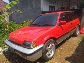 Civic SB3 merah meronah