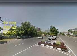 Disewakan Tanah Mainroad Raya MERR Rungkut