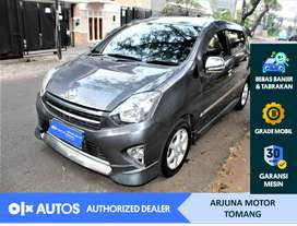 [OLX Autos] Toyota Agya 2014 1.0 TRD S A/T Bensin Grey #Arjuna Tomang