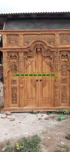 santi cuci gudang pintu gebyok gapuro jendela rumah masjid musholla