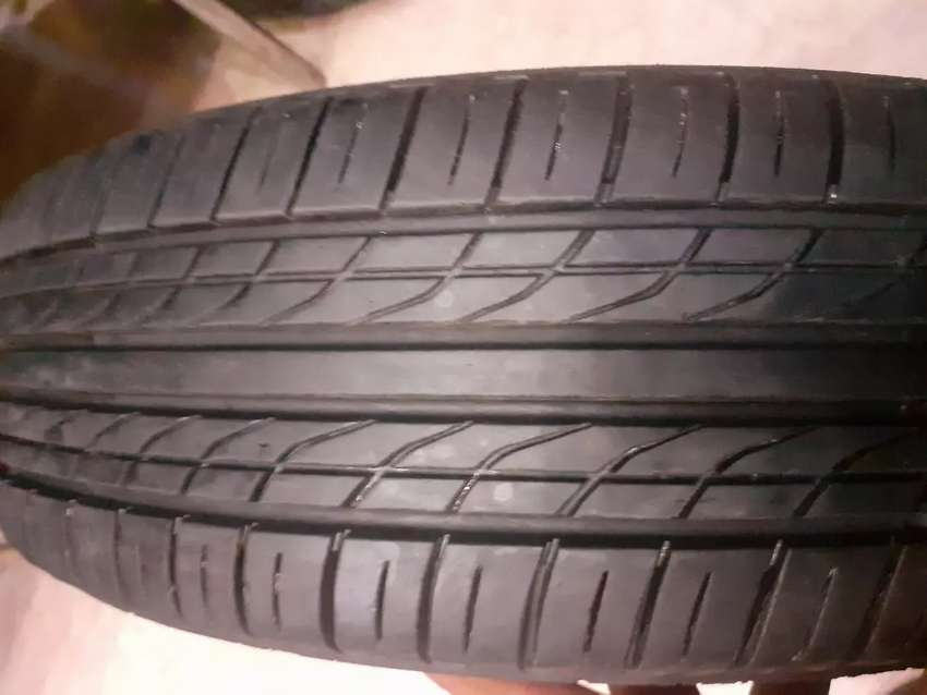Alloy rim and tyre 14 size 0