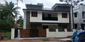 Kollam ayathil 5.25 cent land 2100 sqrf New house