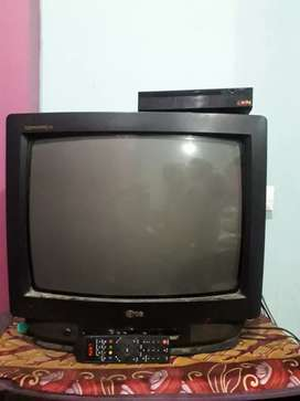 LG with Den set top box
