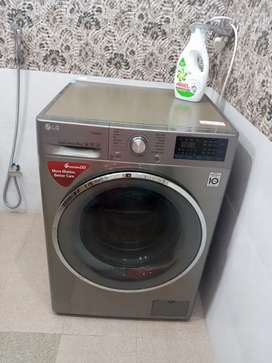 Lg front load fully automatic washing machine8kg